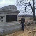 keith at shiloh monument